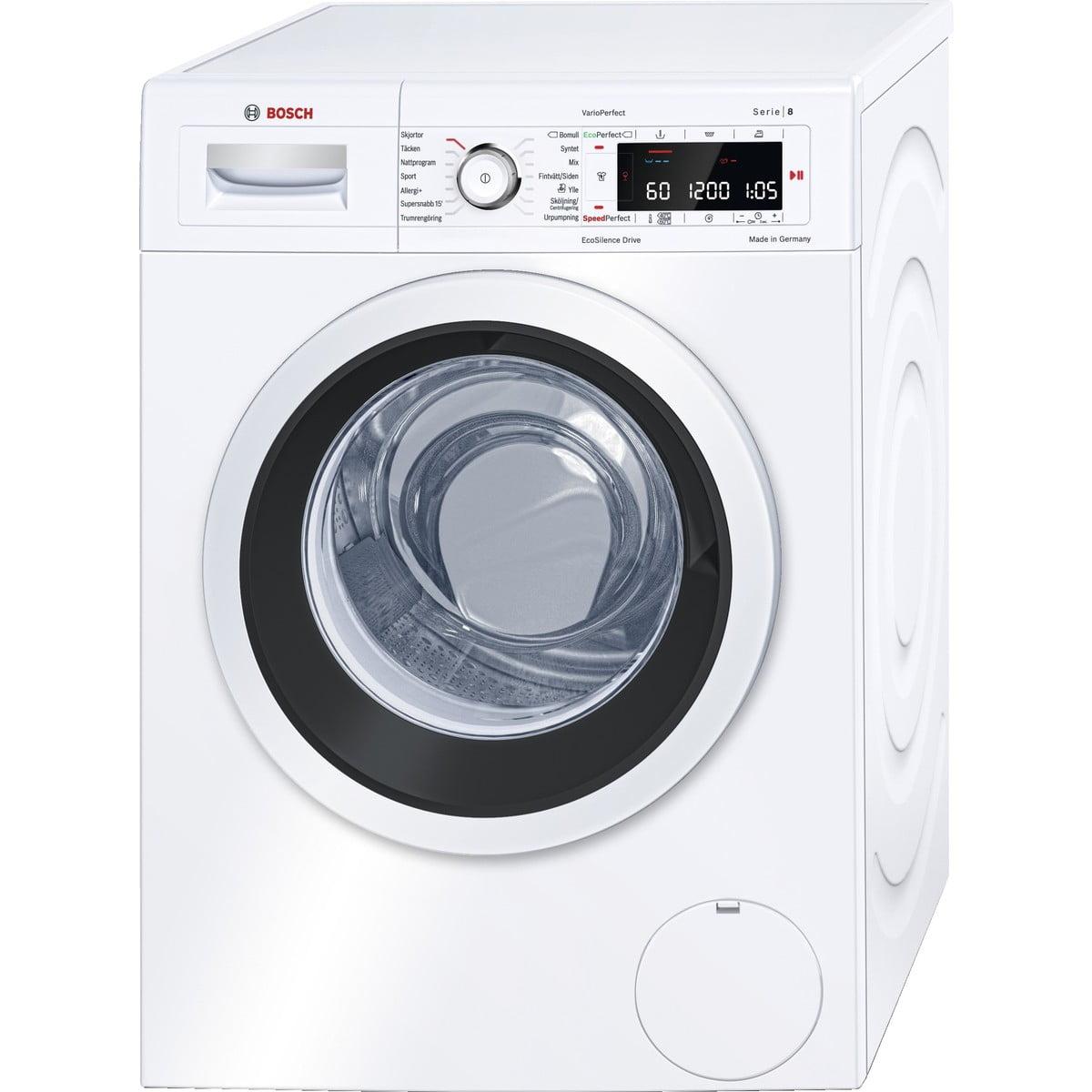 vaskemaskine test